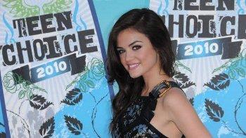 Lucy won a Teen Choice Award in 2010!