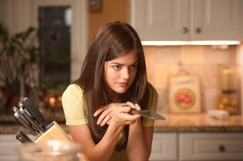 Lucy's character on PLL, Aria, is a girl who's got more than a few secrets!