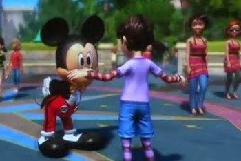Disneyland Kinect Adventures