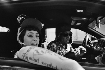 "Kreayshawn just signed to a label after her song ""Gucci Gucci"" was blogged and re-blogged everywhere"