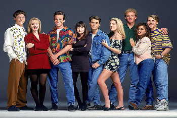 Beverly Hills 90210 inspired the remake, 90210, starring Shenae Grimes