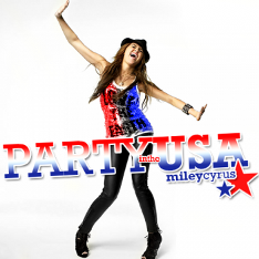 Miley Cyrus topped the charts for weeks with Party in the USA!