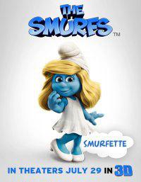 Smurfette Poster