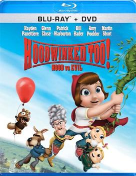Hoodwinked Too! Hood vs. Evil Blu-Ray   DVD