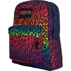 Jansport's Superbreak Backpack comes in a ton of fun prints and colors