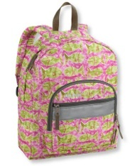 L.L. Bean's Junior Backpack is perfect for heading back to school in style!