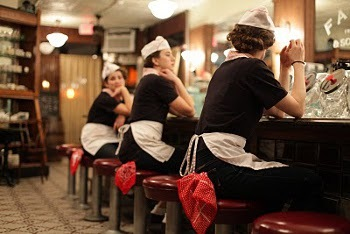 """The video for TBS new single 50's-inspired song """"Sometimes"""" is set in a soda shoppe!"""
