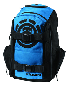 Element Mohave Backpack with heavy-duty skateboard straps