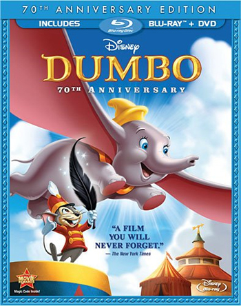 Dumbo 70th Anniversary DVD Review