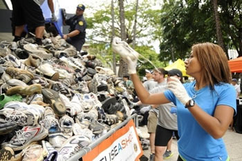 Donate shoe drive