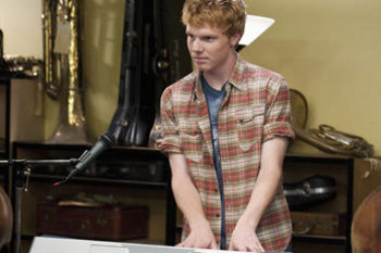 "Adam plays ""Wen"" the keyboard player in Lemonade Mouth"