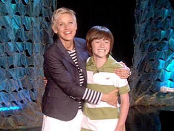 Ellen DeGeneres gave Greyson a record deal