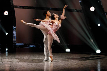 Both winners are trained ballet dancers