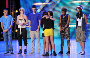 Jennel finds out she made it to the next round.