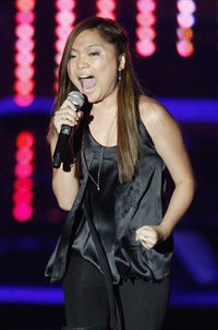 Charice competes