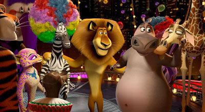 The gang at the circus