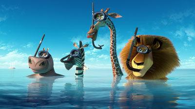 The animals arrive in Monaco waters