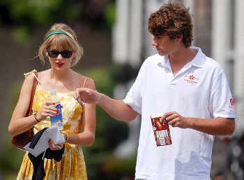 Taylor is currently with Conor Kennedy