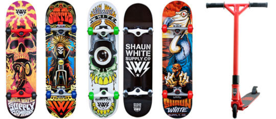 Shaun White Supply Co. Products