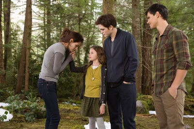 Mackenzie with Kristen, Rob and Taylor