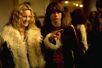 Kate Hudson and Patrick Fugit in Almost Famous