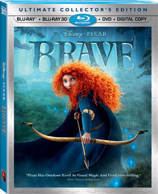 Brave 3D Combo Pack