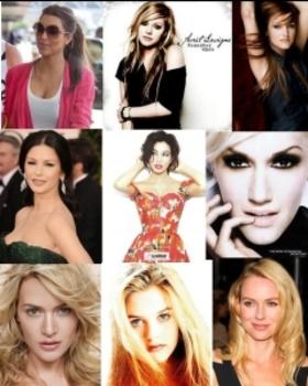 Famous Librans with fabulous style sense: Kim Kardashian, Avril Lavigne, Ashlee Simpson, Catherine Zeta-Jones, Monica Bellucci, Gwen Stefani, Kate Winslet, Gwyneth Paltrow, Alicia Silverstone and Naomi Watts