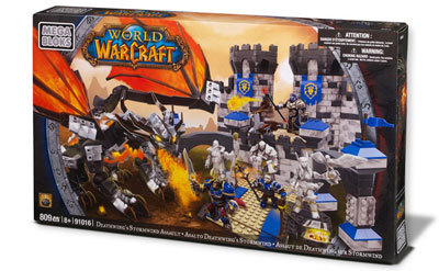 Deathwing's Stormwind Assault, the largest set from Mega Bloks World of Warcraft