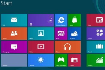 Start Screen with Live Tiles