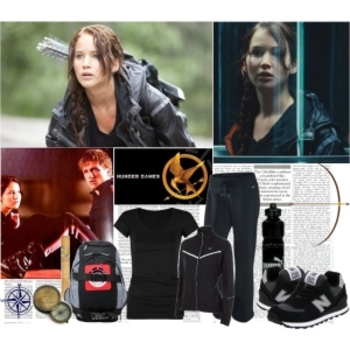 Breakdown of Katniss' outfit for the games