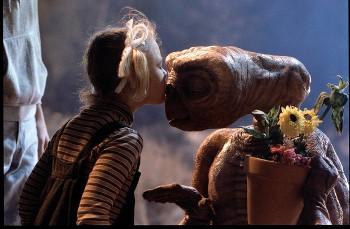 Drew Barrymore stars in E.T. as a little girl