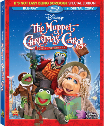 The Muppet Christmas Carol is now available on DVD and Blu-ray