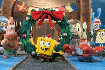 Everyone in Bikini Bottom is excited for Christmas