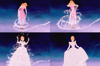 Cinderella gets her fella after a quick magic makeover