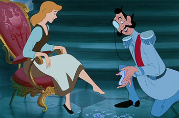 If the shoe fits...marry the Prince!