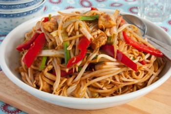 Turkey Chow Mein