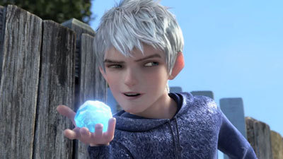 Jack Frost voiced by Chris Pine