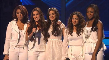 "Fifth Harmony took on ""Hero"" by Marian Carey"