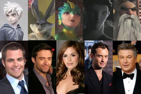 The Guardians voice cast