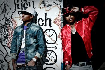 The rap duo landed a spot on stage alongside Mindless Behavior and Diggy Simmons