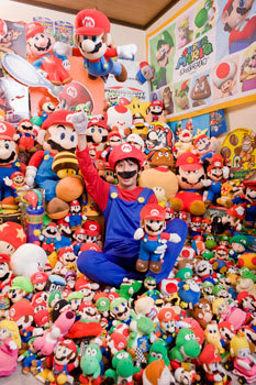 Mitsugu Kikai - Largest Collection Of Super Marios