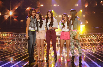 "Fifth Harmony sang ""I'll Stand By You"""