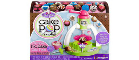 If you're a budding bakerm you should check out Spin Master's Cool Baker Cake Pop Maker, Kidzworld  has the Review.