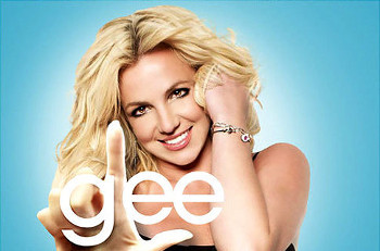 "Britney's songs were the theme for Glee's ""Britney 2.0"""