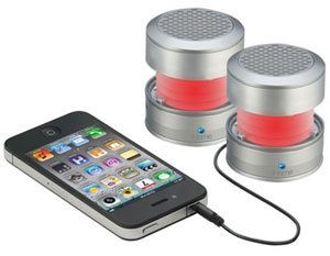 iHM62 Rechargeable Color Changing Mini Speakers, $49
