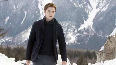Edward in the snow
