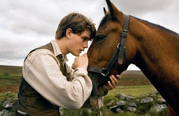 In War Horse Jeremy plays a boy with a special bond to an incredible horse