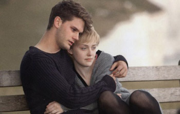 Jeremy and Dakota Fanning in the upcoming movie Now is Good