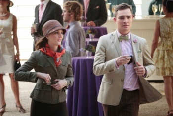 Blair and Chuck at the Horse Show