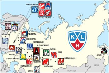 KHL Map